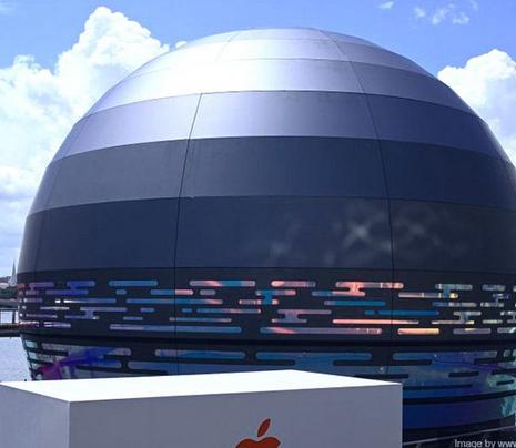 Unik!-Apple-membangun-toko-terapung-di-Singapura